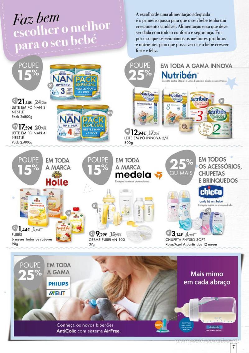 Folheto Pingo Doce Faz bem dar o melhor ao seu bebé. - 20 de Agosto a 16 de Setembro - página 7