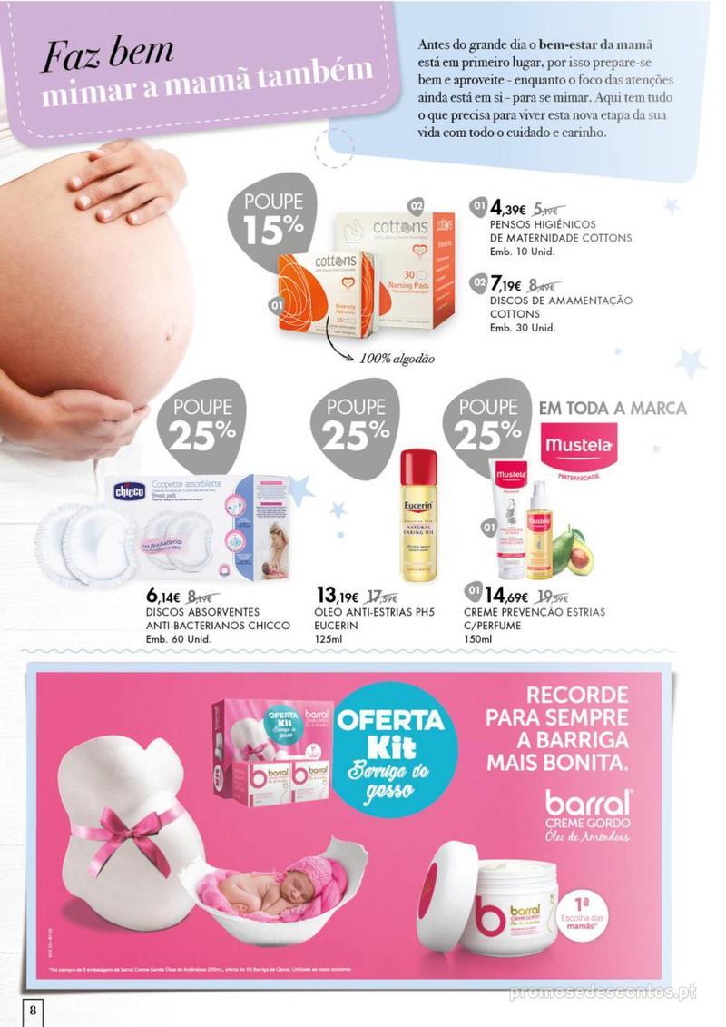 Folheto Pingo Doce Faz bem dar o melhor ao seu bebé. - 20 de Agosto a 16 de Setembro - página 8