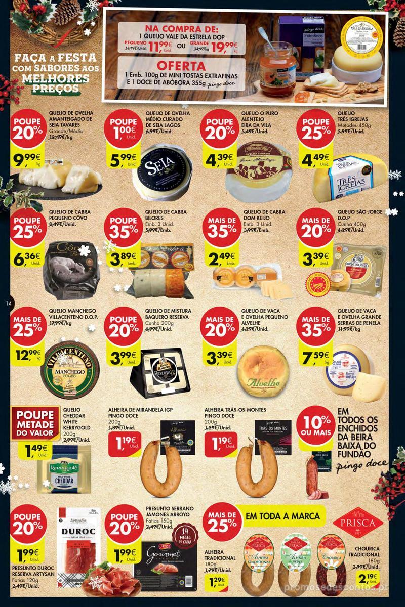 Folheto Pingo Doce Poupe esta semana - Mega/Hiper - 4 de Dezembro a 10 de Dezembro - página 14