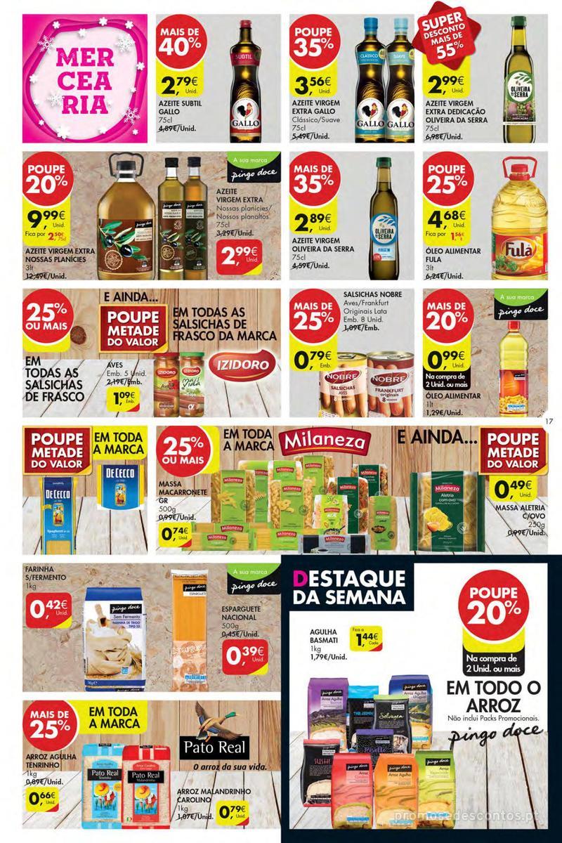 Folheto Pingo Doce Poupe esta semana - Mega/Hiper - 4 de Dezembro a 10 de Dezembro - página 17