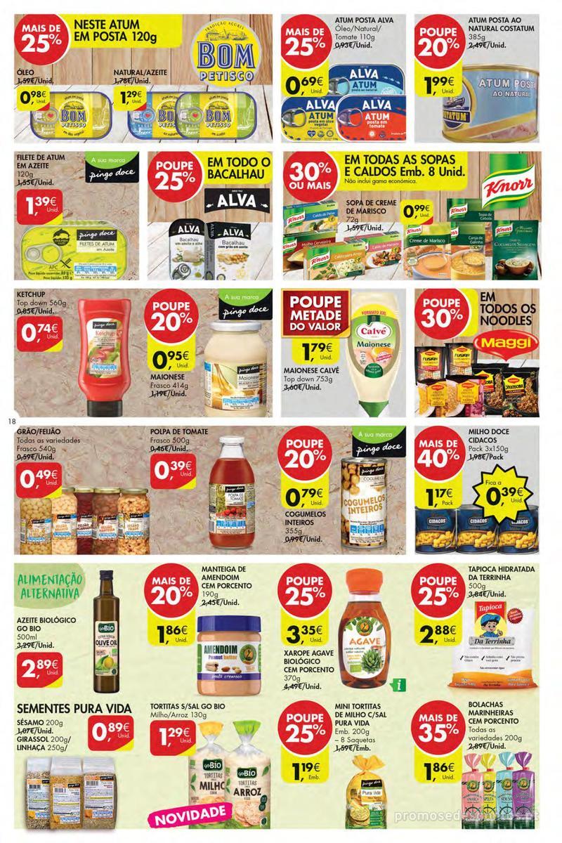 Folheto Pingo Doce Poupe esta semana - Mega/Hiper - 4 de Dezembro a 10 de Dezembro - página 18