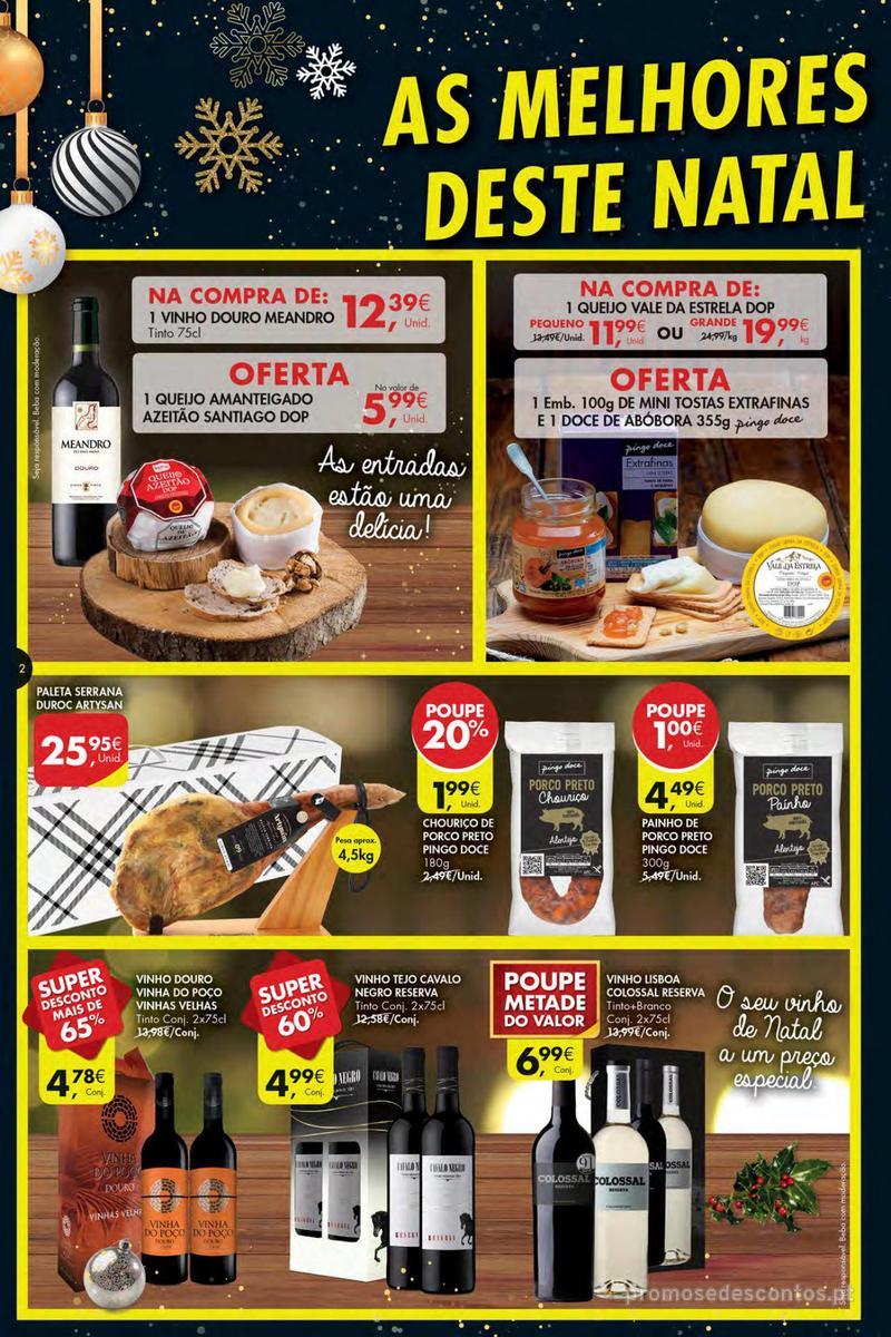 Folheto Pingo Doce Poupe esta semana - Mega/Hiper - 4 de Dezembro a 10 de Dezembro - página 2