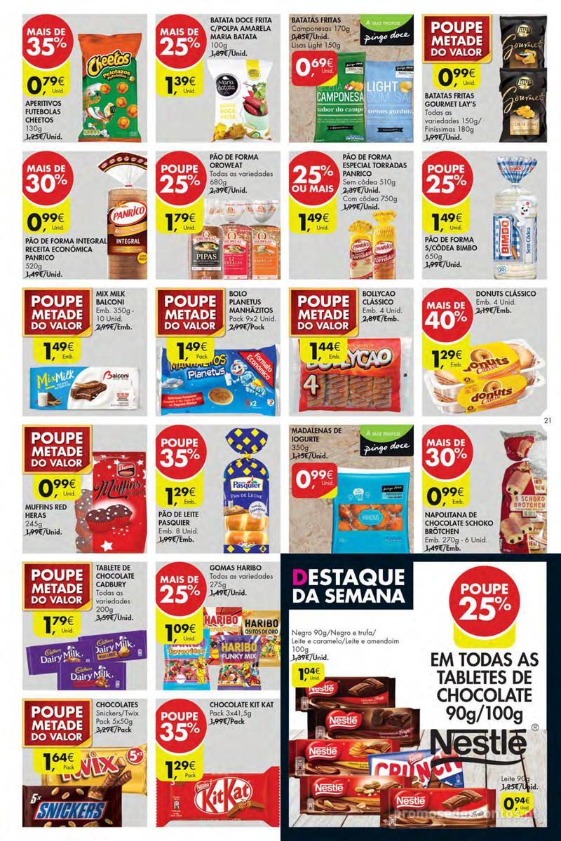 Folheto Pingo Doce Poupe esta semana - Mega/Hiper - 4 de Dezembro a 10 de Dezembro - página 21