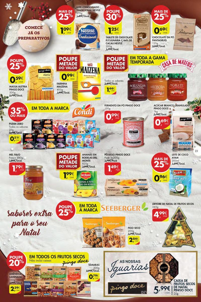 Folheto Pingo Doce Poupe esta semana - Mega/Hiper - 4 de Dezembro a 10 de Dezembro - página 23