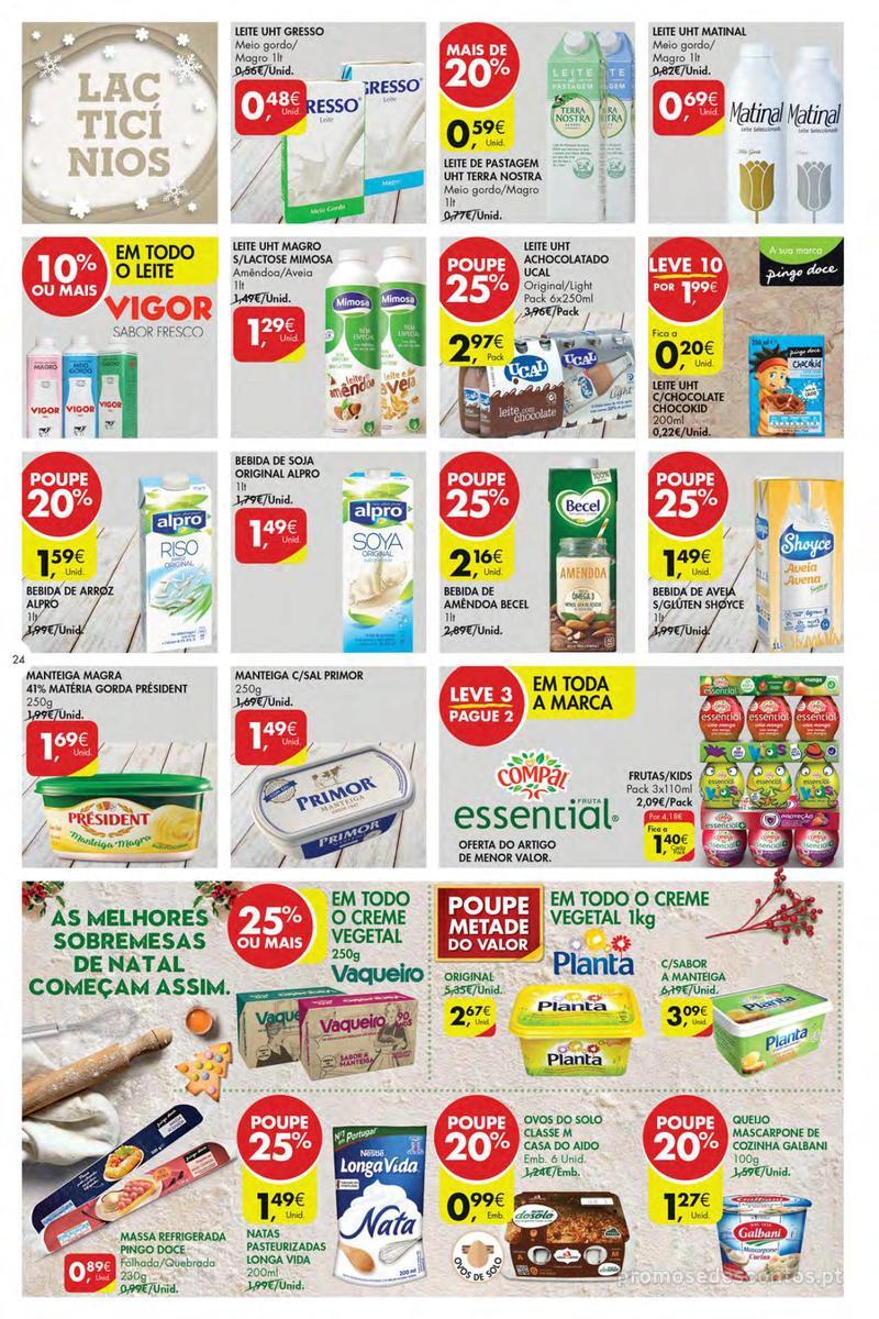 Folheto Pingo Doce Poupe esta semana - Mega/Hiper - 4 de Dezembro a 10 de Dezembro - página 24