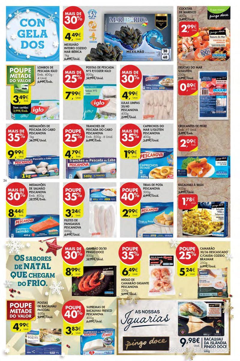 Folheto Pingo Doce Poupe esta semana - Mega/Hiper - 4 de Dezembro a 10 de Dezembro - página 26