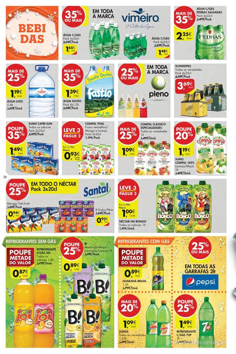 Folheto Pingo Doce Poupe esta semana - Mega/Hiper - 4 de Dezembro a 10 de Dezembro - página 28