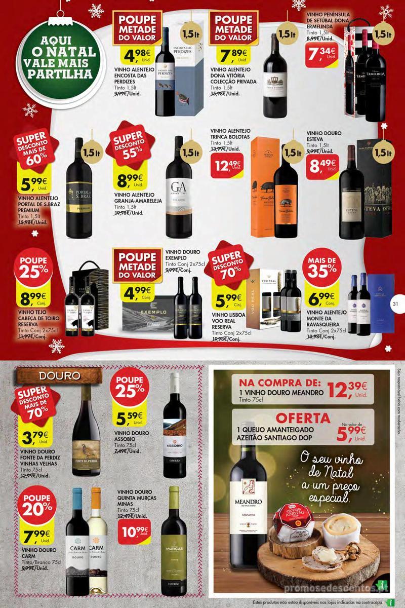 Folheto Pingo Doce Poupe esta semana - Mega/Hiper - 4 de Dezembro a 10 de Dezembro - página 31