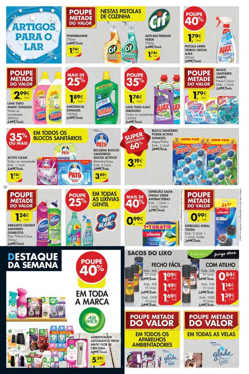 Folheto Pingo Doce Poupe esta semana - Mega/Hiper - 4 de Dezembro a 10 de Dezembro - página 32