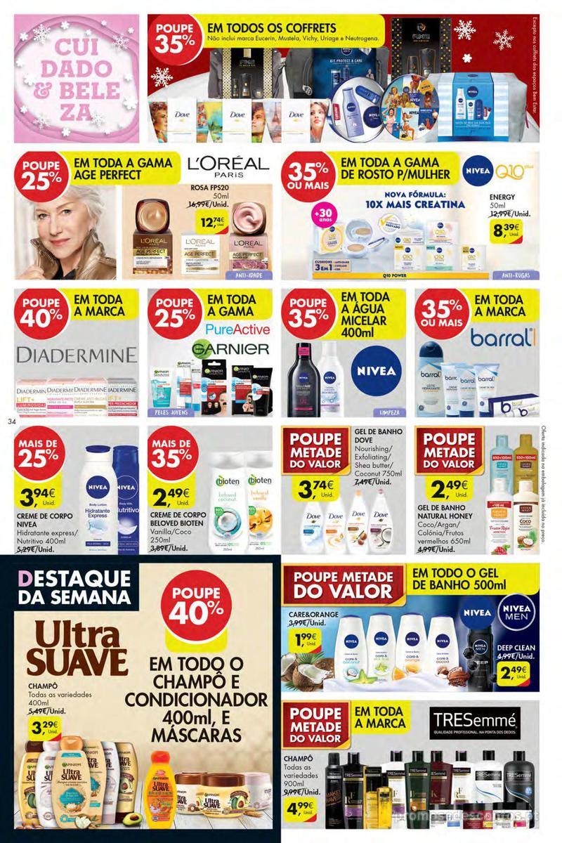 Folheto Pingo Doce Poupe esta semana - Mega/Hiper - 4 de Dezembro a 10 de Dezembro - página 34