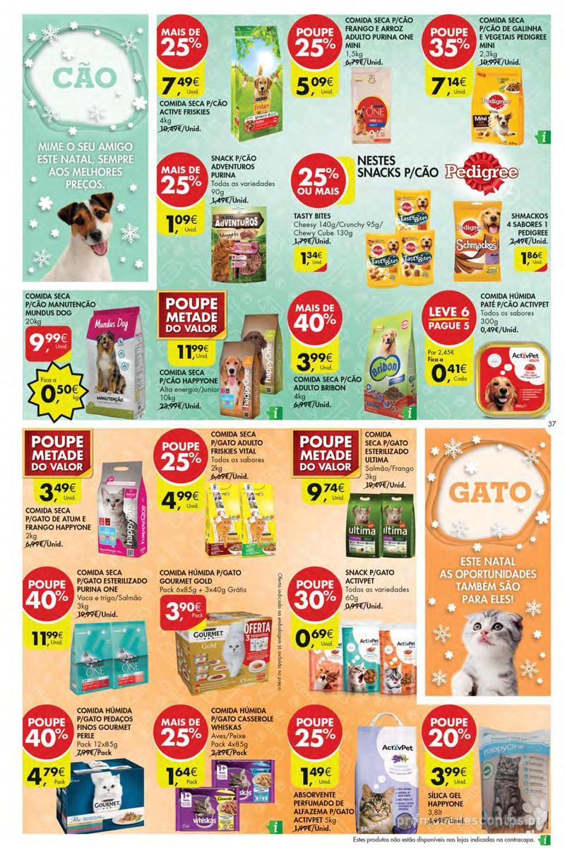 Folheto Pingo Doce Poupe esta semana - Mega/Hiper - 4 de Dezembro a 10 de Dezembro - página 37