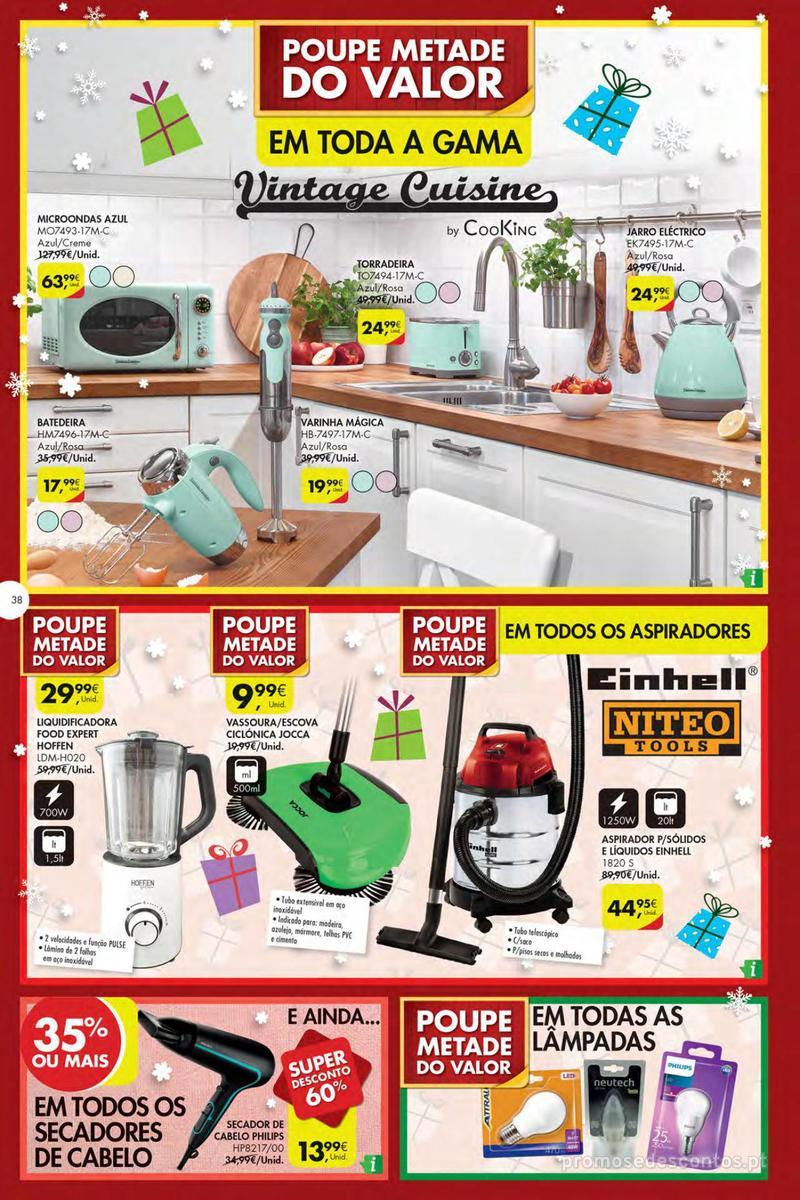 Folheto Pingo Doce Poupe esta semana - Mega/Hiper - 4 de Dezembro a 10 de Dezembro - página 38