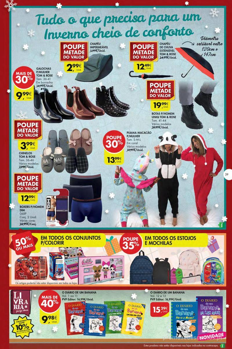 Folheto Pingo Doce Poupe esta semana - Mega/Hiper - 4 de Dezembro a 10 de Dezembro - página 39