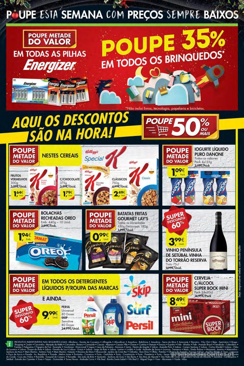 Folheto Pingo Doce Poupe esta semana - Mega/Hiper - 4 de Dezembro a 10 de Dezembro - página 40