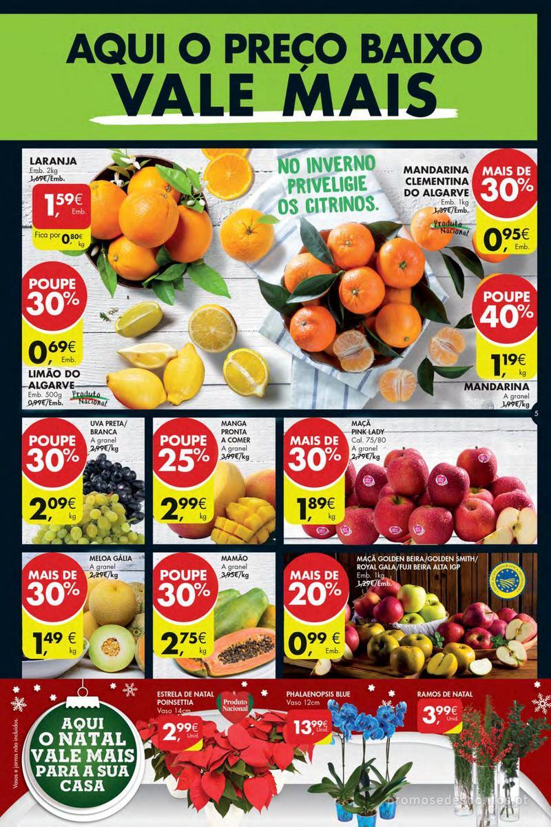 Folheto Pingo Doce Poupe esta semana - Mega/Hiper - 4 de Dezembro a 10 de Dezembro - página 5