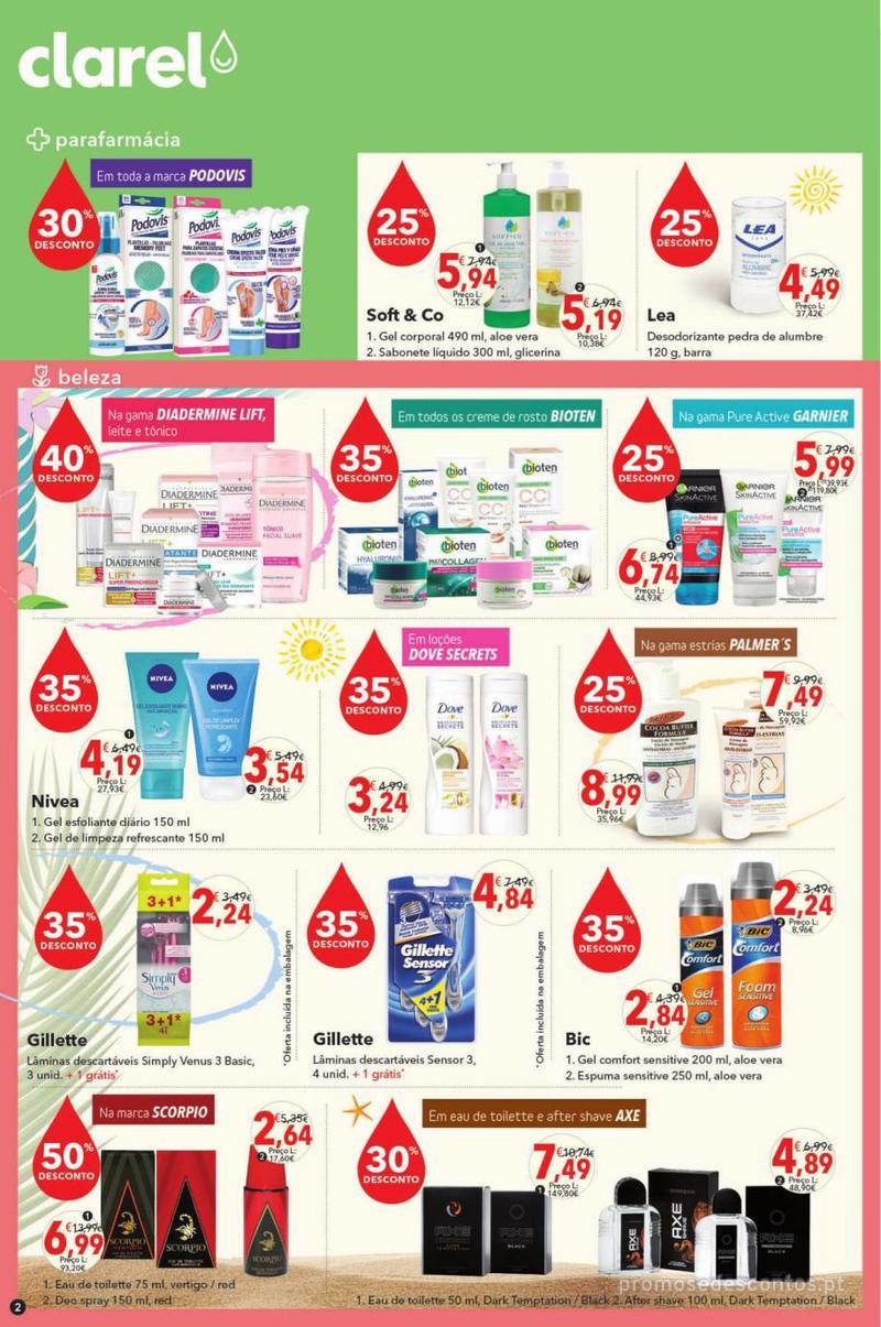 Folheto Minipreço Clarel - O verão está a chegar! - 9 de Maio a 22 de Maio - página 2