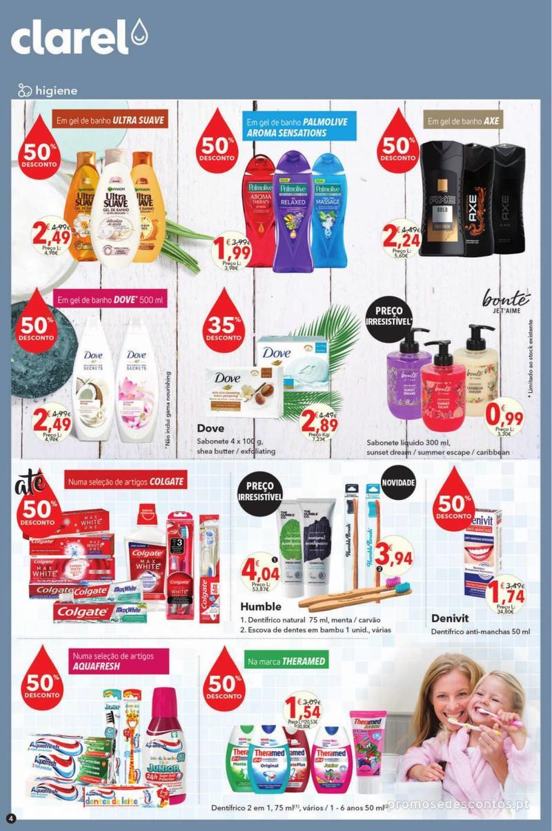 Folheto Minipreço Clarel - O verão está a chegar! - 9 de Maio a 22 de Maio - página 4