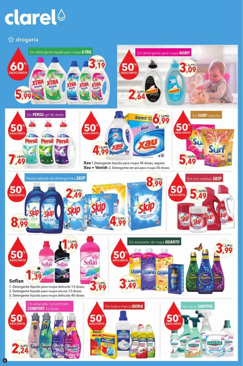Folheto Minipreço Clarel - O verão está a chegar! - 9 de Maio a 22 de Maio - página 6