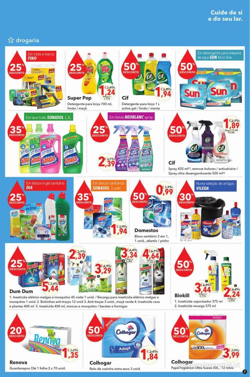 Folheto Minipreço Clarel - O verão está a chegar! - 9 de Maio a 22 de Maio - página 7