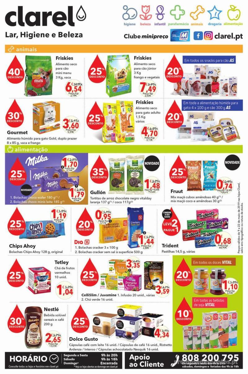 Folheto Minipreço Clarel - O verão está a chegar! - 9 de Maio a 22 de Maio - página 8