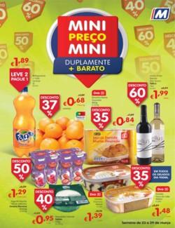 Mini Preço Mini, duplamente mais barato - 23 de Março a 29 de Março