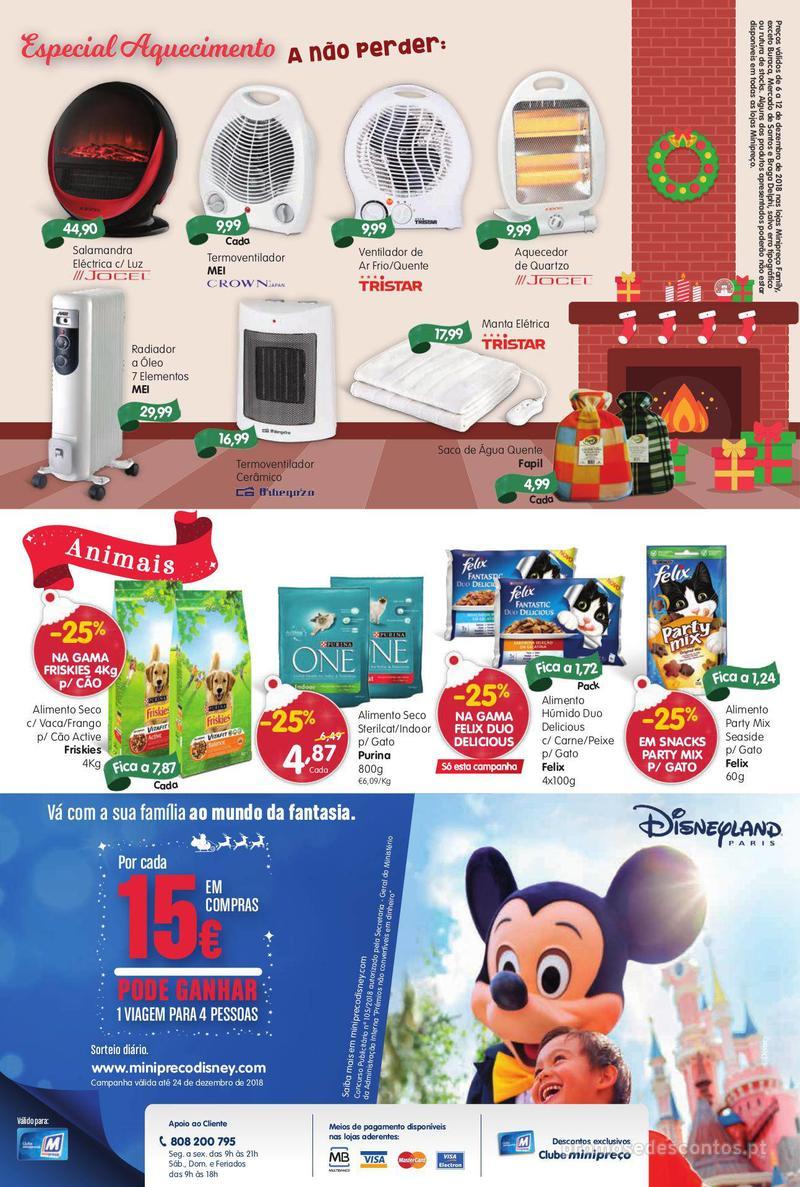 Folheto Minipreço Ao seu lado, até ao mundo da fantasia - Family - 6 de Dezembro a 12 de Dezembro - página 20