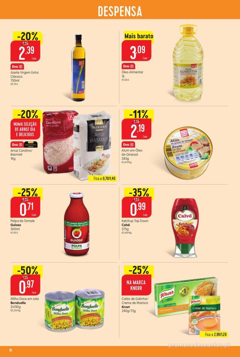 Folheto Minipreço Ao seu lado, aos preços mais baixos - 8 de Agosto a 14 de Agosto pág. 10