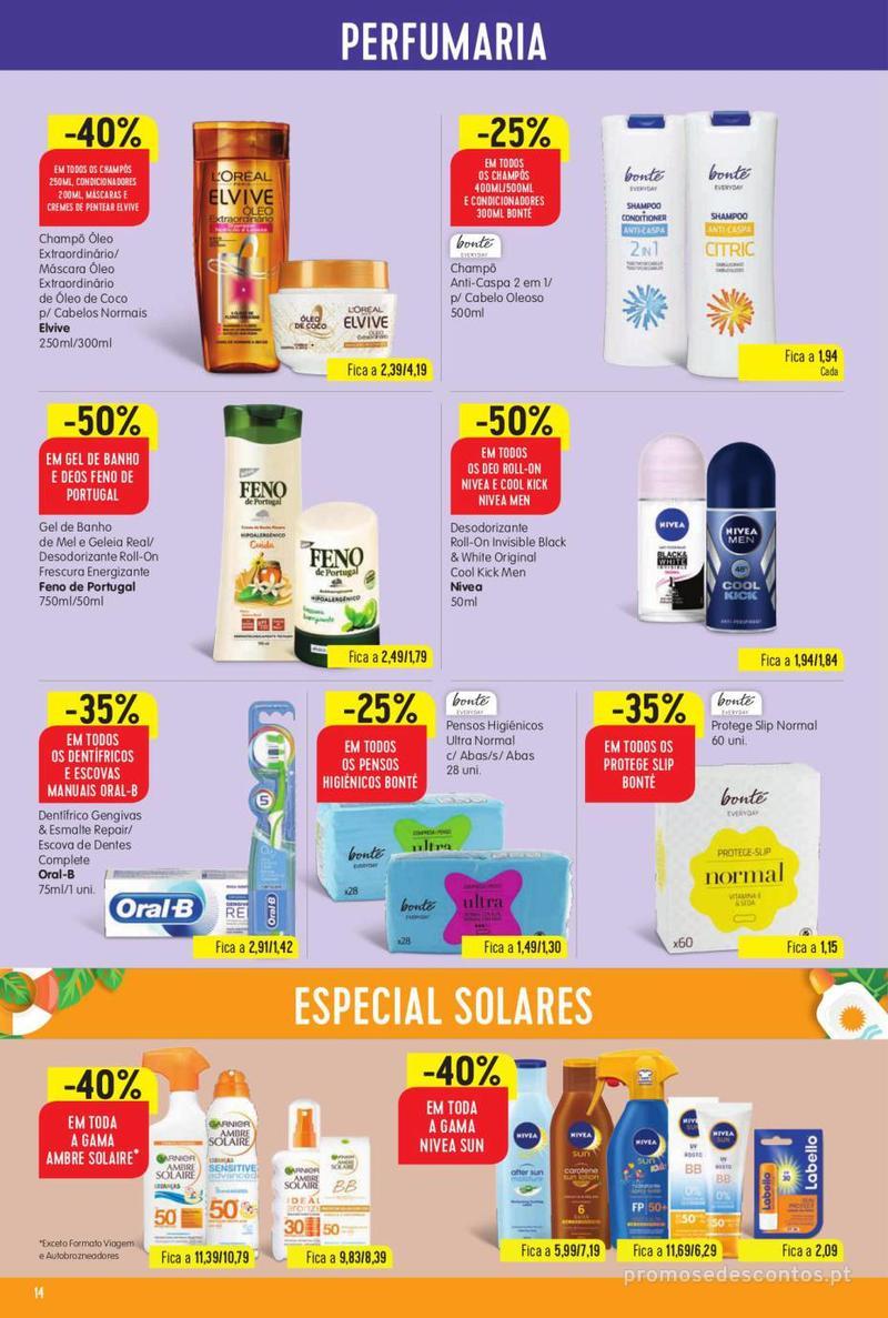 Folheto Minipreço Ao seu lado, aos preços mais baixos - 8 de Agosto a 14 de Agosto pág. 14