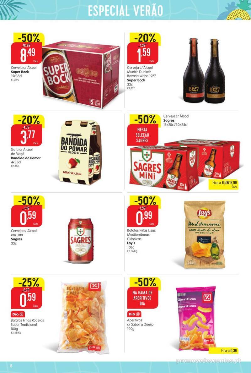 Folheto Minipreço Ao seu lado, aos preços mais baixos - 8 de Agosto a 14 de Agosto pág. 16