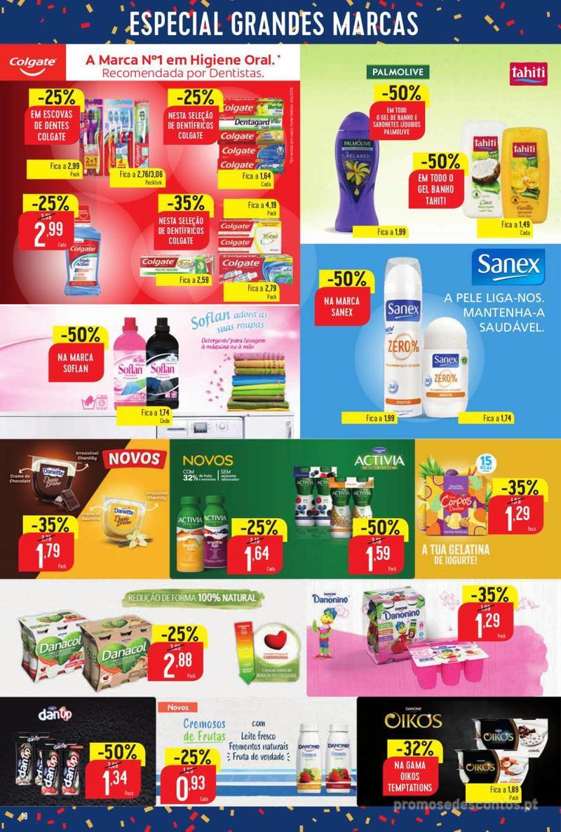Folheto Minipreço Ao seu lado, aos preços mais baixos - 8 de Agosto a 14 de Agosto pág. 18