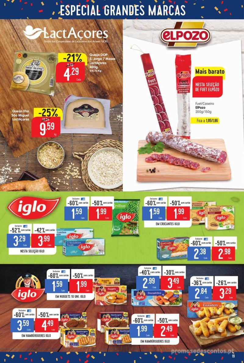 Folheto Minipreço Ao seu lado, aos preços mais baixos - 8 de Agosto a 14 de Agosto pág. 19