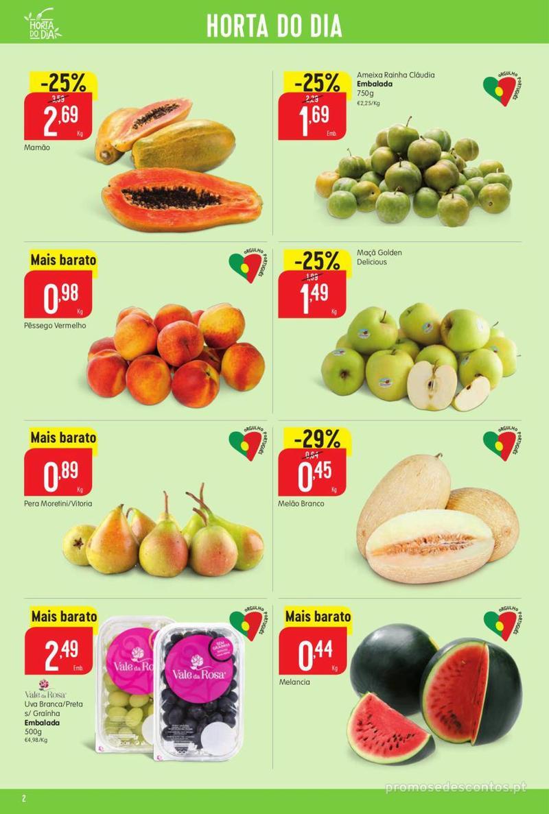 Folheto Minipreço Ao seu lado, aos preços mais baixos - 8 de Agosto a 14 de Agosto pág. 2