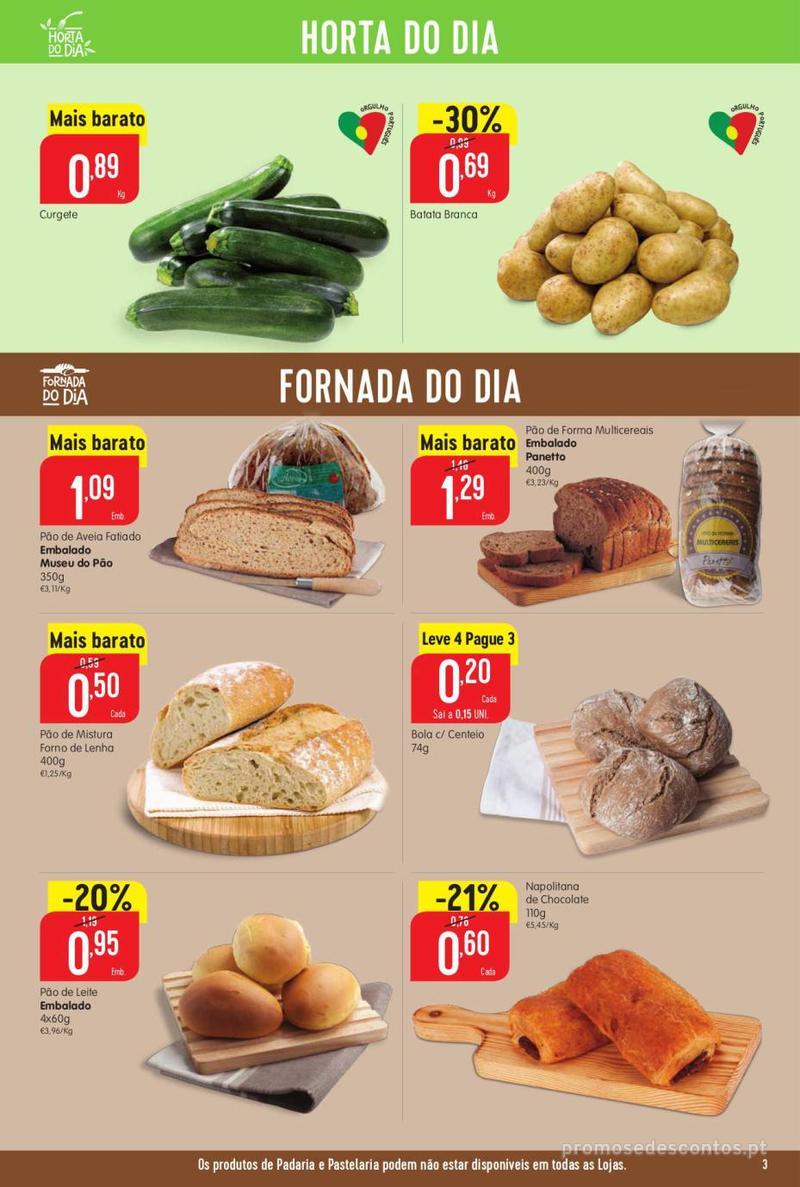 Folheto Minipreço Ao seu lado, aos preços mais baixos - 8 de Agosto a 14 de Agosto pág. 3