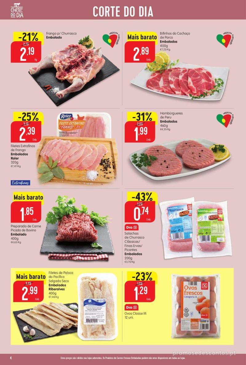 Folheto Minipreço Ao seu lado, aos preços mais baixos - 8 de Agosto a 14 de Agosto pág. 4