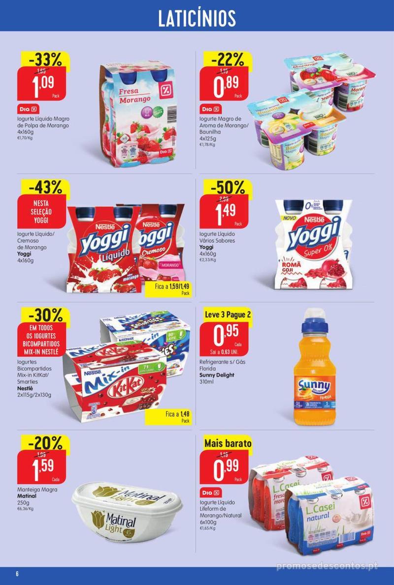 Folheto Minipreço Ao seu lado, aos preços mais baixos - 8 de Agosto a 14 de Agosto pág. 6