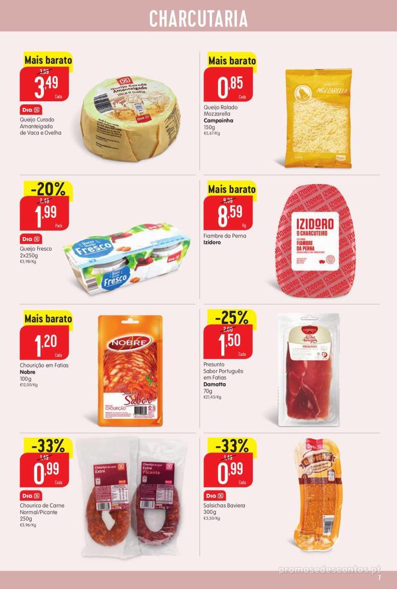 Folheto Minipreço Ao seu lado, aos preços mais baixos - 8 de Agosto a 14 de Agosto pág. 7