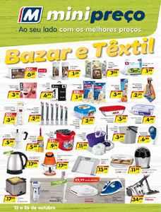 Bazar&Textil - 13 de Outubro a 26 de Outubro
