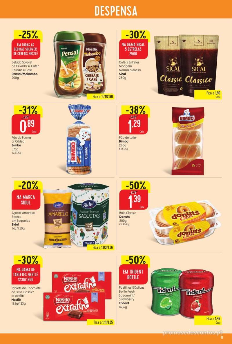 Folheto Minipreço Ao seu lado, aos preços mais baixos - Family - 8 de Agosto a 14 de Agosto - página 11