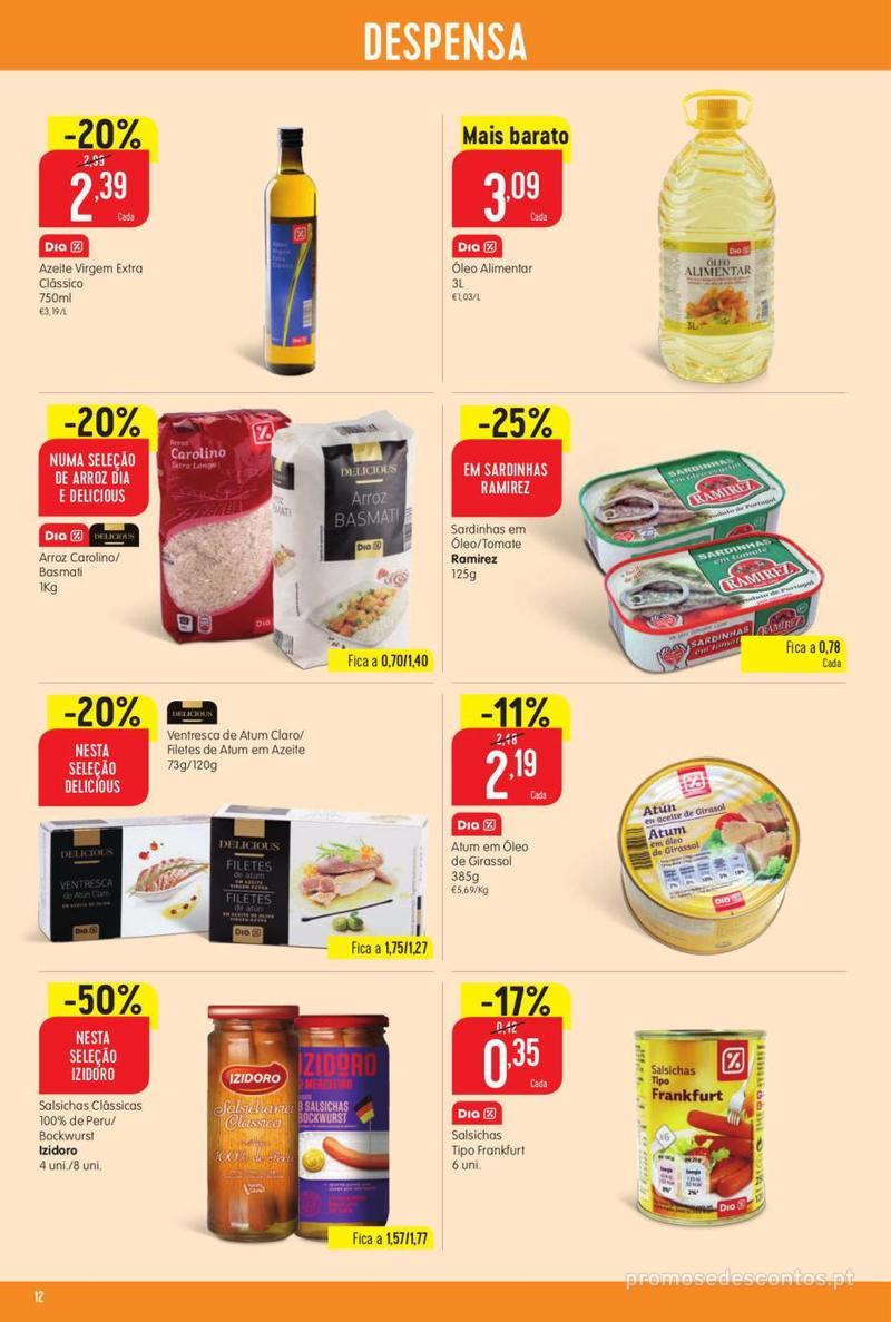 Folheto Minipreço Ao seu lado, aos preços mais baixos - Family - 8 de Agosto a 14 de Agosto - página 12