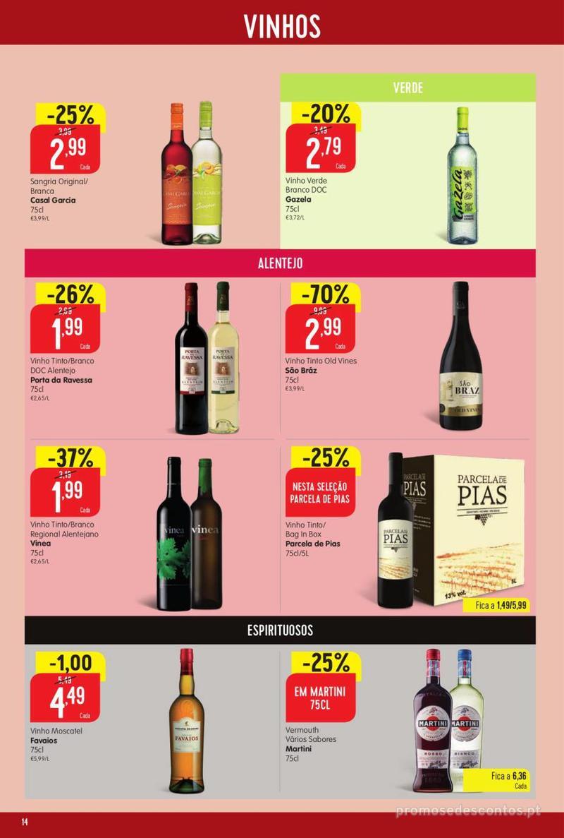 Folheto Minipreço Ao seu lado, aos preços mais baixos - Family - 8 de Agosto a 14 de Agosto - página 14