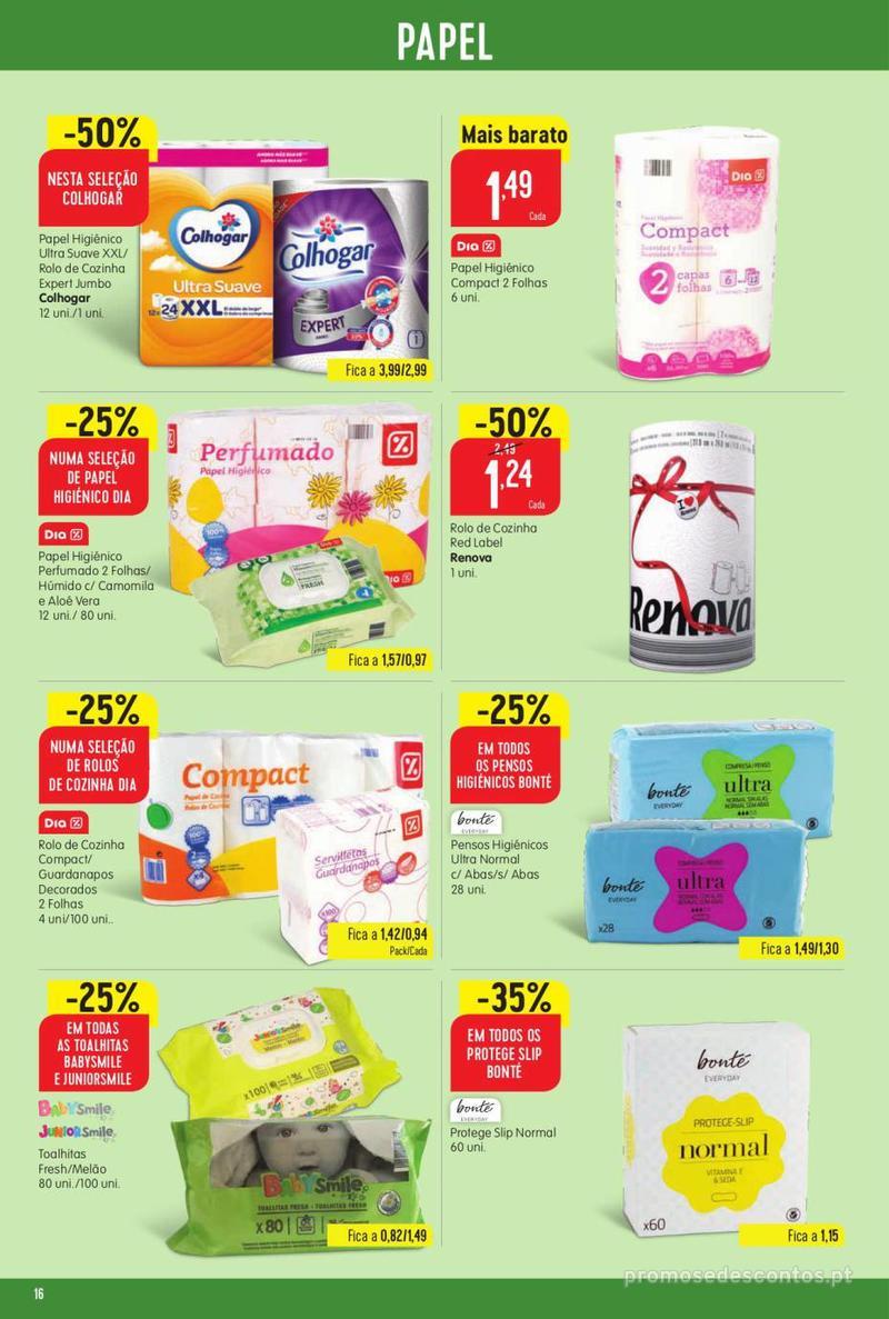 Folheto Minipreço Ao seu lado, aos preços mais baixos - Family - 8 de Agosto a 14 de Agosto - página 16