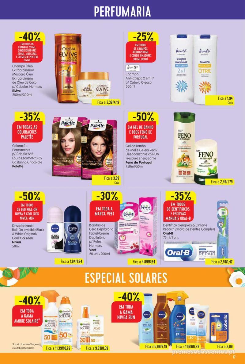 Folheto Minipreço Ao seu lado, aos preços mais baixos - Family - 8 de Agosto a 14 de Agosto - página 17