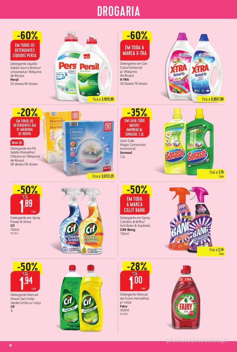 Folheto Minipreço Ao seu lado, aos preços mais baixos - Family - 8 de Agosto a 14 de Agosto - página 18