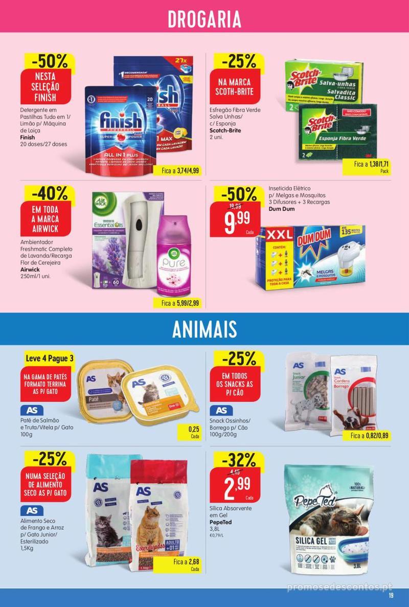 Folheto Minipreço Ao seu lado, aos preços mais baixos - Family - 8 de Agosto a 14 de Agosto - página 19
