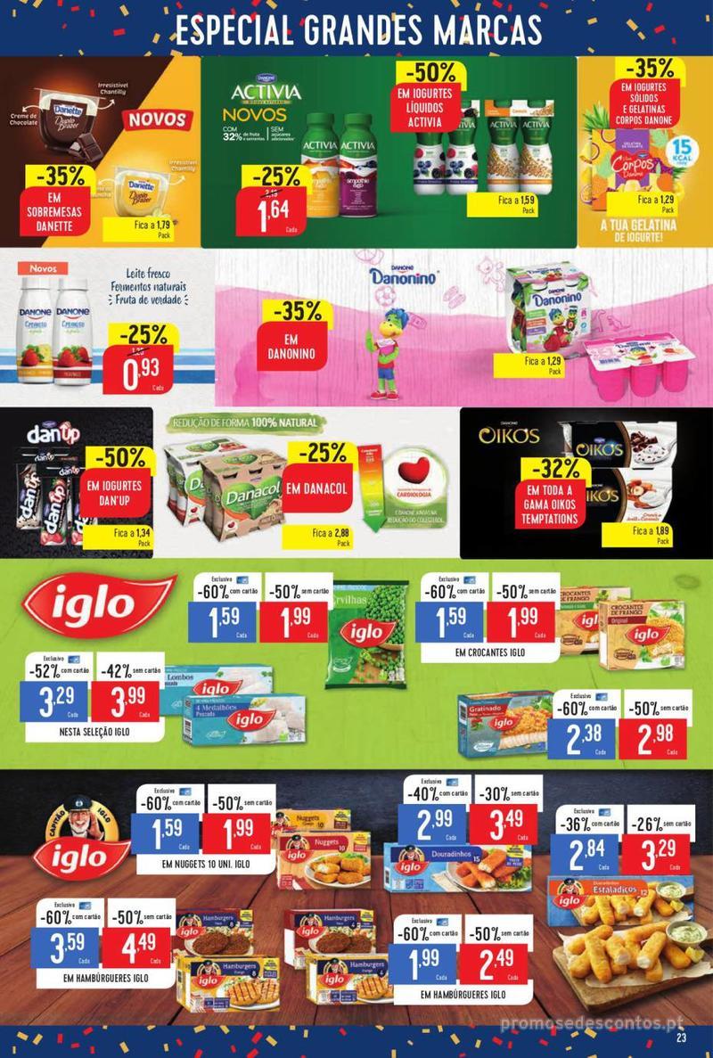 Folheto Minipreço Ao seu lado, aos preços mais baixos - Family - 8 de Agosto a 14 de Agosto - página 23