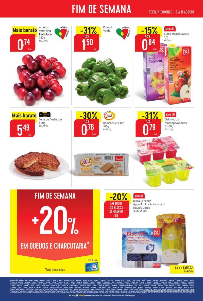 Folheto Minipreço Ao seu lado, aos preços mais baixos - Family - 8 de Agosto a 14 de Agosto - página 24