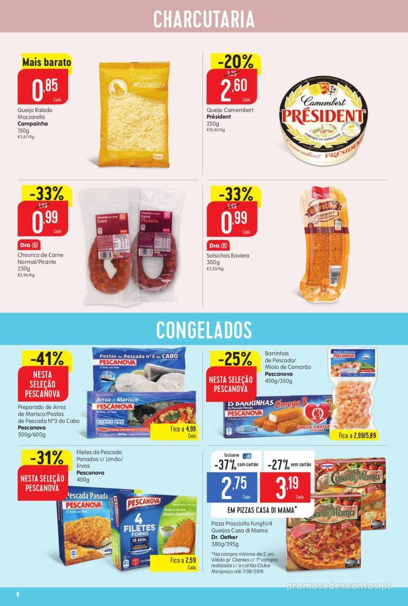 Folheto Minipreço Ao seu lado, aos preços mais baixos - Family - 8 de Agosto a 14 de Agosto - página 8