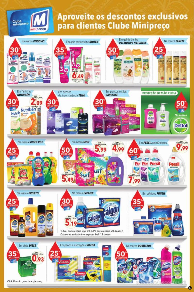 Folheto Minipreço Clarel - Viva o verão beleza - 8 de Agosto a 21 de Agosto - página 5