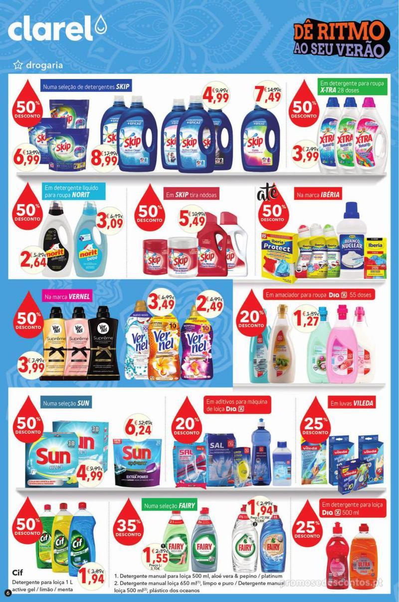Folheto Minipreço Clarel - Viva o verão beleza - 8 de Agosto a 21 de Agosto - página 6