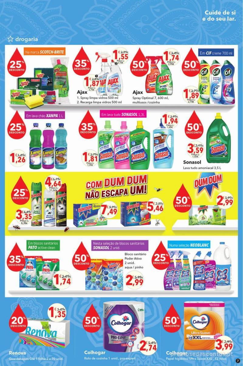 Folheto Minipreço Clarel - Viva o verão beleza - 8 de Agosto a 21 de Agosto - página 7